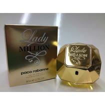 Perfume Lady Million 80 Ml - Edp - Original E Lacrado