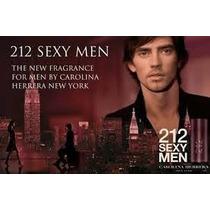 Perfume Carolina Herrera 212 Sexy Homem 100ml Edt