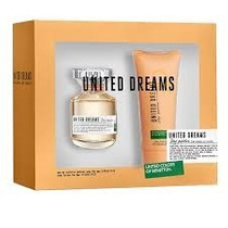 Kit Benetton United Dreams Stay Possitive Feminino.