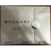 Kit Bvlgari Man: Perfume+desodorante+gel De Banho - Lacrado!
