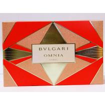 Omnia Coral Bulgari - Kit Feminino / Perfume + Bolsa + Creme