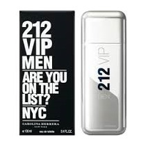 212 Vip Men Carolina Herrera, 100 Ml - Original E Lacrado