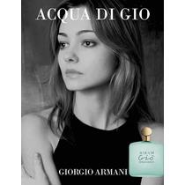 Giorgio Armani Acqua De Gio Edt Feminino-100 Ml