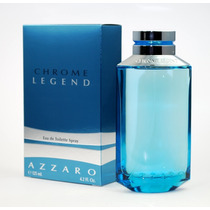 Azzaro Chrome Legend Masc 125ml Edt - Perfume - Original