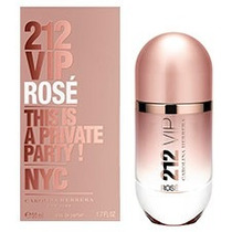 Perfume Carolina 212 Vip Rose Fem 80ml