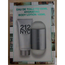 Kit 212 Nyc Fem Edt 100 Ml + Body Lotion 100 Ml Original