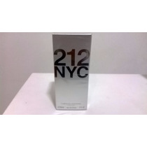 Perfume 212 Nyc Fem 60 Ml Carolina Herrera - 100% Original