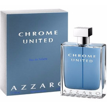 Perfume Azzaro Chrome United 100ml | Lacrado 100% Original