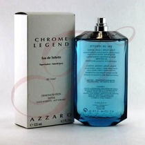 Perfume Chrome Legend For Men By Azzaro125ml Original Tester