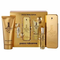 Kit Paco Rabanne 1 Million 100ml + Miniatura 15ml + Gel De B