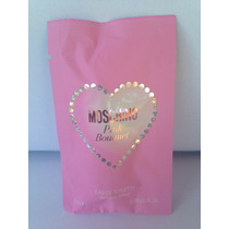 Amostra Moschino Pink Bouquet Eau De Toilette 1 Ml Spray
