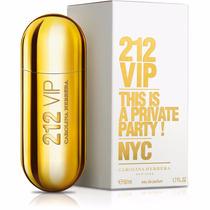 Perfume 212 Vip Carolina Herrera Eau De Parfum Feminimo 50ml