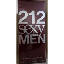Perfume 212 Sexy Men 100 Ml Edt - Carolina Herrera Original