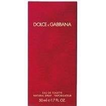Dolce & Gabbana Red 50ml Perfumes Femininos Vermelho Lacrado