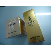 Kit One Million 200 Ml E Lady Millon 80 Ml Original