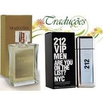 Perfume Hinode Traduções Gold 62 - 212 Vip Men
