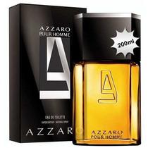 Perfume Azzaro Pour Homme 200ml - Edt - Lacrado E Autentico