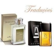 Perfume Hinode Traduçoes Gold 01 - Azarro -100 Ml