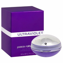 Perfume Feminino Ultraviolet 80ml - 100% Original