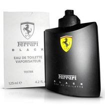Perfume Ferrari Black 125ml Tester Original Frete Único Br