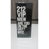 Perfume Original 50ml Masculino Importado Usa 212 Vip Men