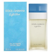 Perfume Dolce Gabbana Light Blue Fem Edt 50ml Frete Grátis