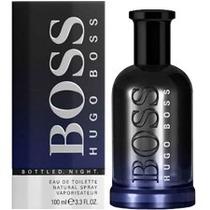 Perfume Hugo Boss Bottled Night Masculino Edt 100 Ml