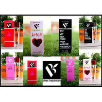 Kit Com 10 Perfumes Originais Inspirados Para Revenda