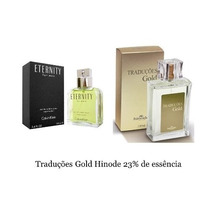 Hinode Traduções Gold 59 Ck Eternity Masculino Perfume 100ml