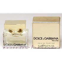 Perfume Miniatura The One Dolce E Gabanna 5 Ml Edp