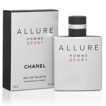 Perfume Allure Homme Sport Masculino Eau De Toilette 100ml