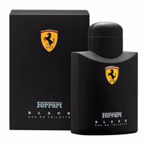 Perfume Ferrari Black Mascul. Eau De Toilette 125ml Original