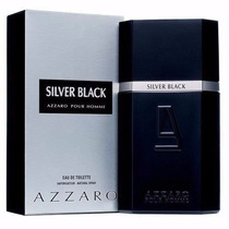Perfume Azzaro Silver Black 100ml 100% Original E Lacrado
