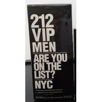 Perfume 212 Vip Men Masculino 100ml Original Lacrado
