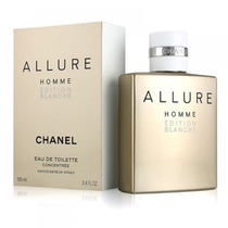 Perfume Allure Homme Edition Blanche 100ml Original Lacrado