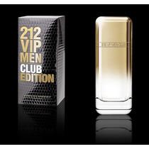 212 Vip Men Club Edition -100ml - P/entrega - O Mais Barato