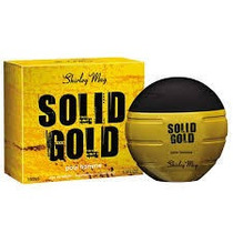 Perfume Masculino Shirley May Solid Gold 100ml - Leilão