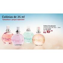 Miniaturas Jequiti Bem Me Quer Perfumes 25 Ml Femininos