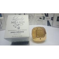 Perfume Lady Million Edp 80ml Tester Original