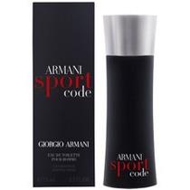 Giorgio Armani Code Sport Masculino Edt 75 Ml