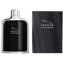 Perfume Jaguar Classic Black Masculino Eau De Toilette 100ml