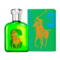 Ralph Lauren The Big Pony Green 3 75ml Masculino Original