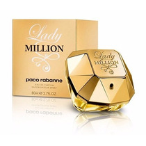 Lady Million Paco Rabanne Feminino Eau De Parfum ¿ 50 Ml