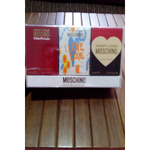 Kit Miniaturas Moschino!!