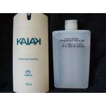Desodorante + Refil Kaiak Spray Natura Masculino 100ml Cada