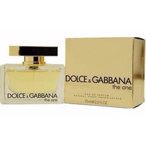 Dolce Gabbana The One Fem Eau De Parfum 75ml - Frete Gratis