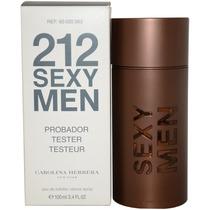 Tester 212 Sexy Men 100ml Temos 2 Perfumarias Autorizadas