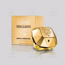 Perfume Lady Million 80ml - Paco Rabanne Original Lacrado