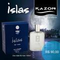Deo Colônia Kazon Islas For Man 100ml + Frete Gratis