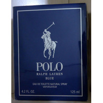 Polo Blue Edt 125 Ml Masc Ralph Lauren - Original Lacrado